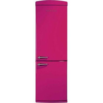 350 LT,  kombi çift kapılı,  no frost buzdolabı,  tropikal,  pembe,  A+, 175 - 60 - 64 CM