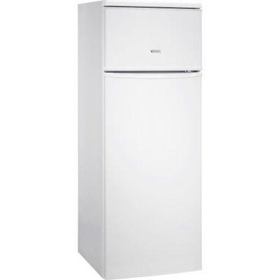 250 LT,  Çift kapılı,  Statik Buzdolabı,  Tropikal,  Beyaz,  A+, 144 - 54 - 57 CM