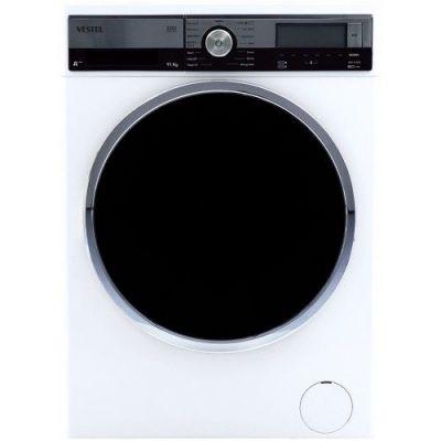 11 kg, 1200 d/d, çamaşır makinesi, beyaz,INVERTER, geniş kapak, A+++, 86 - 60 - 64 CM