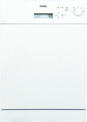 4 program, yarı ankastre, ekonomi programlı bulaşık makinesi, beyaz, 10 kişilik, A++, 82/86 - 45 - 57,5 CM