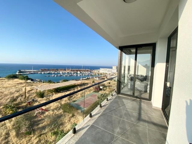 Yeni 3+1 Kiralık   Kesilmez Deniz ve Marina Manzaralı   Full  Yeni Mobilya ve Beyaz Eşya  2 Banyo/Wc 