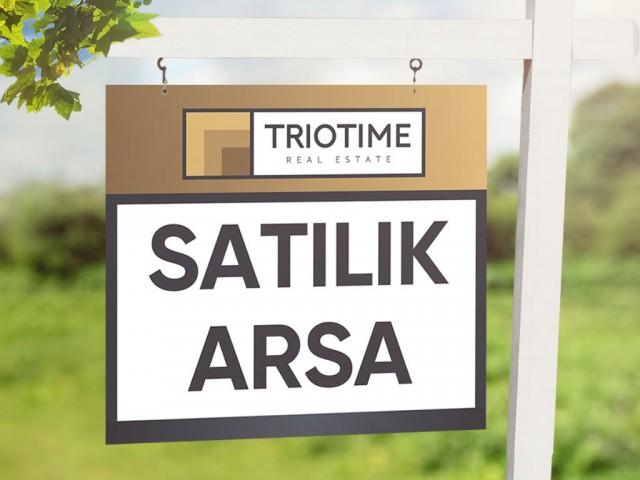 Lefkoşa Hamitköy'de 717 m2 Villalık Türk Malı Satılık Arsa 69.000 STG