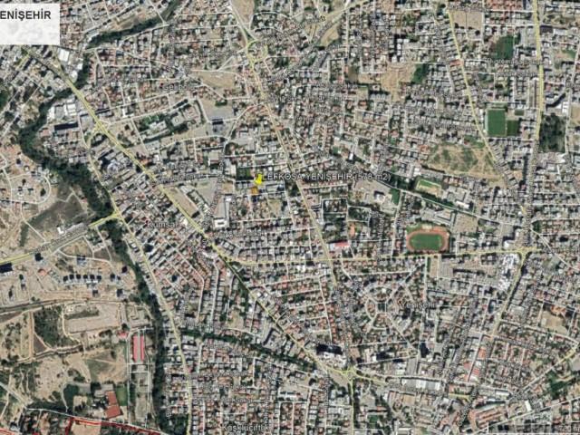 Lefkoşa'nın Tam Merkezi Yenişehir'de 15 (2+1) Daireli Apartman Yapımına Uygun Arsa!