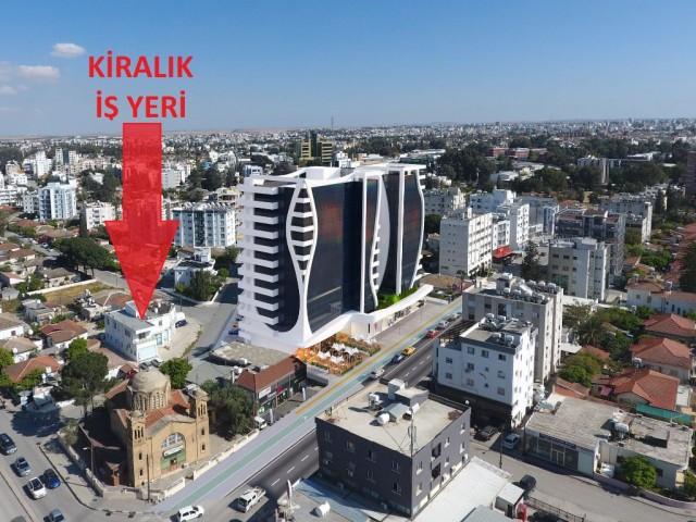 Lefkoşa'nın İş Dünyası Merkezi - YÜKSELEN DEĞER YENİŞEHİR'de Kiralık Mağaza (120m2)