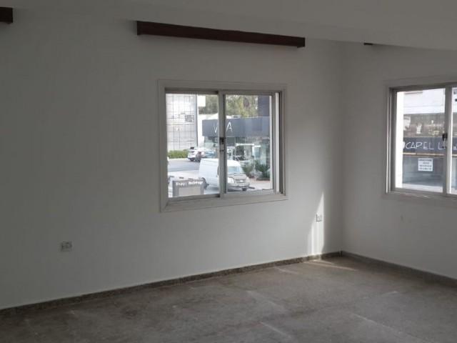 Lefkoşada kaymaklıda kiralık ofis izinli 3+1 daire
