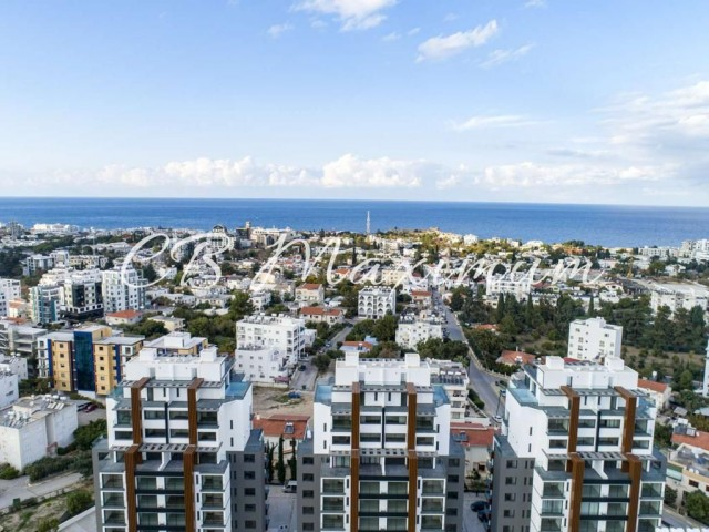 Kyrenia Center New 2+1 Luxury Residance Flats for Sale