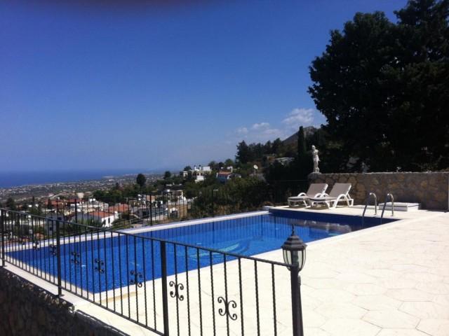 Girne Bellapis   ortak havuzlu sitede full eşyalı kiralık villa ( 2 deposit 1 kira 1komisyon olarak)