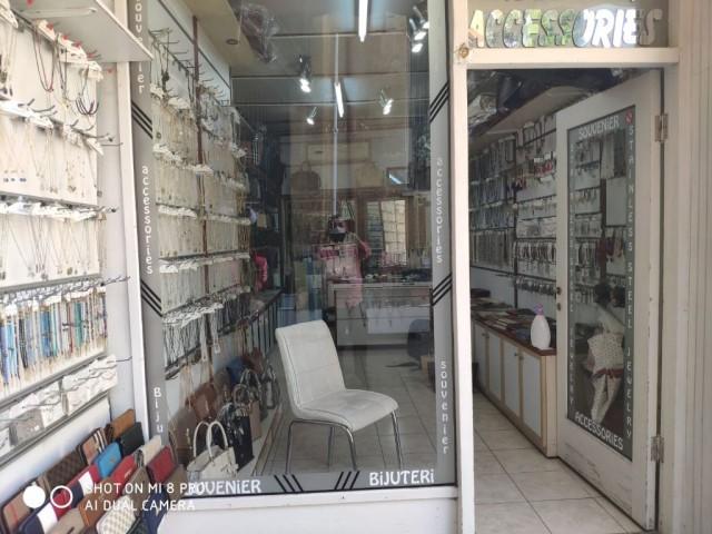 !!!MERKEZİ LOKASYON!!! Lefkoşa Surlariçi Bölgesinde Satılık Türk Koçanlı Dükkan
