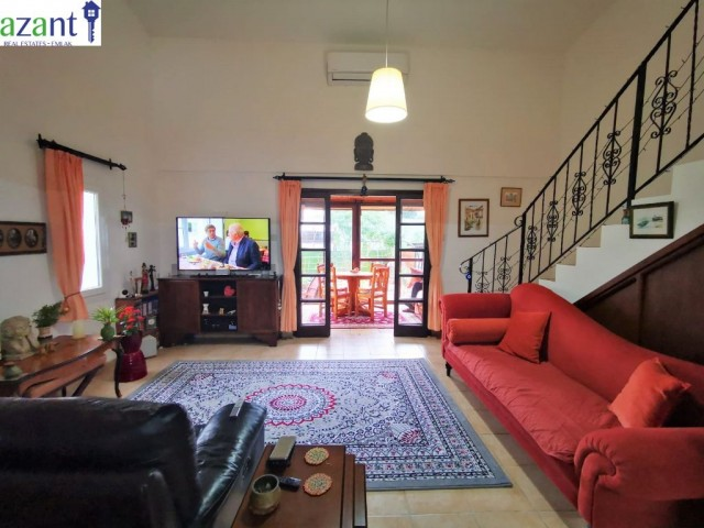 1 BEDROOM SEMI DETACHED VILLA FOR SALE IN KARAOGLANOGLU