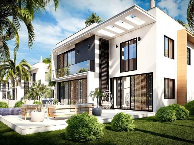 Doğa İçinde Şehir ve Plajlara Yakın Satılık Modern 3+1 Müstakil Villalar Habibe Çetin 05338547005
