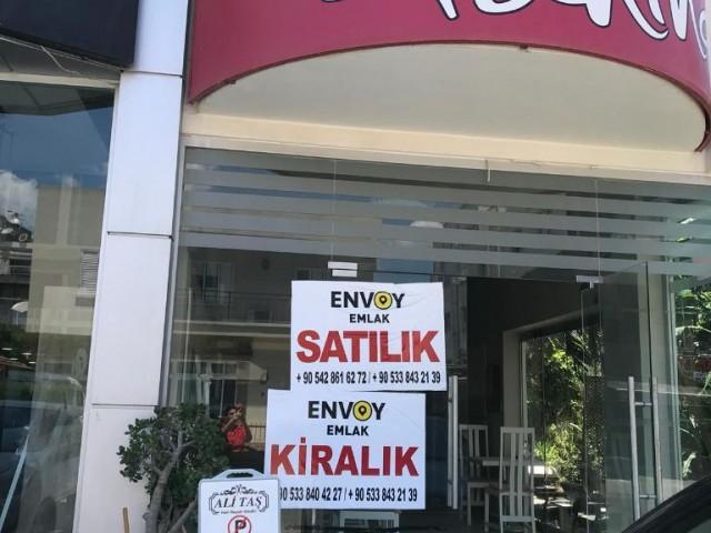 Dereboyu- Caddede Nadir Bulunabilen Satılık DÜKKAN( Sendeli  Türk Tapulu 135m2 )