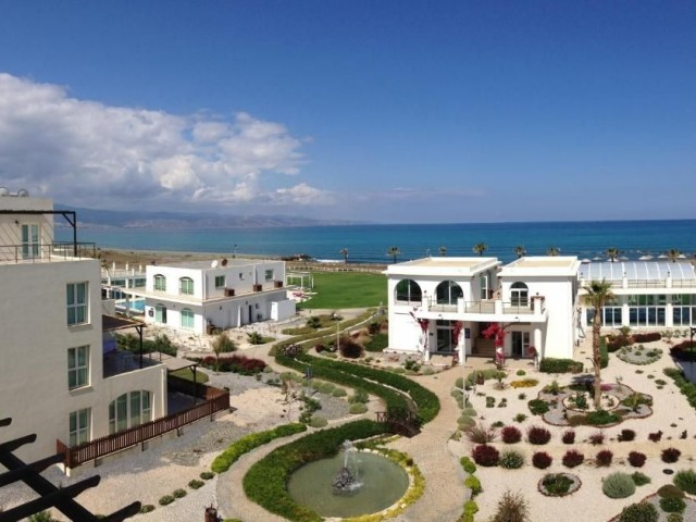 Great Opportunity to Purchase a 1+1 Apartment with Sea and Mountain Views  on this Prestigious Site