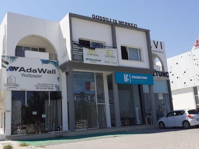 Karaoğlanoğlunda işlek cadde üzerinde (dükkan üstü) kiralık 60m2 ofis  - 220 stg / aylık !!