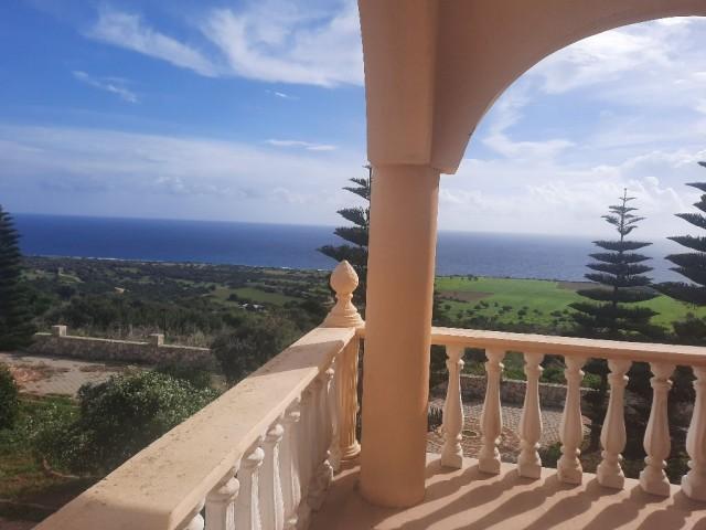 Karpaz taşlıca da kiralik deniz manzarali villa