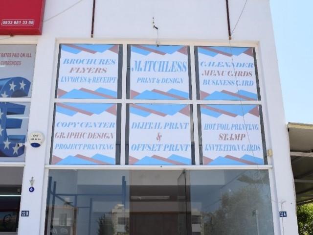 Girne Karakum'da Kiralık dublex dükkan